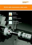 Brochure:  RLP40 radio transmission lathe probe