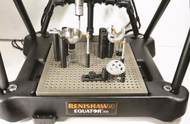 Equator with Renishaw fixture set up